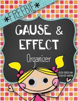 Cause & Effect Reading for Comprehension ~ FREE ~ Graphic Organizers