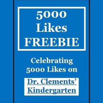 FREEBIE Celebrating 5,000 Likes!