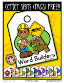 FREEBIE Center Signs ~ Rebranded & New ClipArt