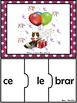 FREEBIE Centro de Palabras de Silabas Trabadas GruposConso