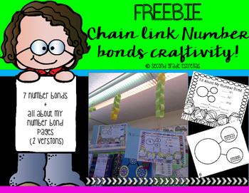 FREEBIE: Chain Link Number Bonds