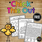 Chick Math Pages and Crossword Puzzle FREEBIE
