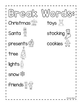 *FREEBIE* Christmas Break Writing Journal