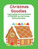 {FREEBIE} Christmas Goodies: Word Problem Task Cards