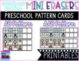 FREEBIE   Christmas Mini Erasers Pattern Cards