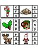 FREEBIE Christmas Peg Game - Beginning Sounds