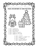 FREEBIE - Christmas Themed Following Directions