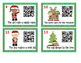FREEBIE Christmas Verbs with QR Codes