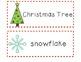 FREEBIE! Christmas Words for Pocket Charts