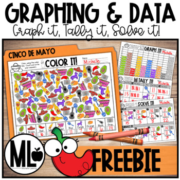 Forever FREEBIE*Cinco De Mayo Data and Graphing