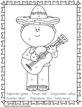 FREEBIE! Cinco de Mayo Language Arts Review
