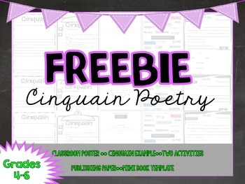 FREEBIE: Cinquain Poetry