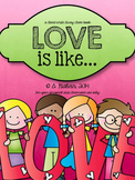 FREEBIE Class Book - Love Is Like (Valentine's Day)