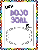 FREEBIE Class Dojo Goal Display Sign