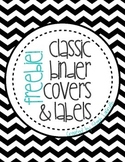 FREEBIE! Classic Binder Covers & Labels!