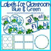 FREEBIE Classroom Label Templates