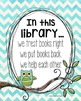 FREEBIE: Classroom Library Poster & Bookmarks