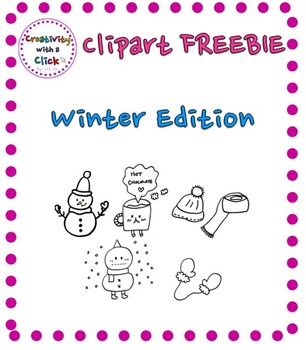 FREEBIE Clipart - Winter Edition