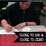 FREEBIE Close to 100 and Close to Zero Numeracy Practice