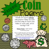 FREEBIE! Coin Poem Posters