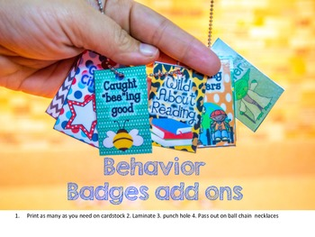 College Bound Behavior Badge/Bead
