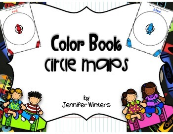FREEBIE Color Book Circle Maps
