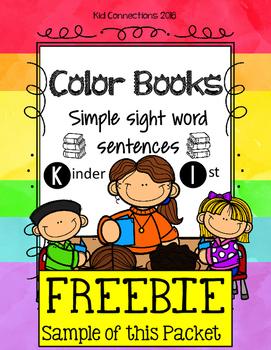 FREEBIE Color Book Sample