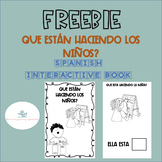 FREEBIE Color, Cut, and Paste Spanish Verbs Book