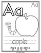 FREEBIE Color, Trace, and Read ABC Coloring Pages