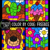 FREEBIE: Color by Code Sampler {Creative Clips Clipart}
