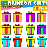 FREEBIE! Colorful Gifts Clipart Set
