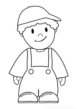 Boy and Girl Valentine Couple Coloring Page • FREE Printable PDF ... | 350x247