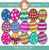 Easter Eggs Clip Art 2