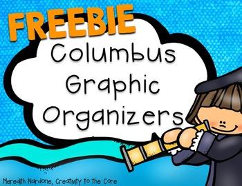 FREEBIE - Columbus Day Graphic Organizers
