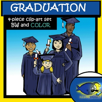 CommUNITY Graduation Clip-Art