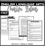 FREEBIE Common Core Main Idea Lesson Plan