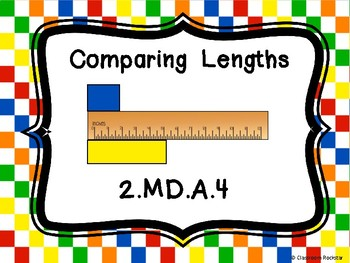 FREEBIE  Comparing Lenghts: CCSS 2.MD.A.4