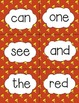 FREEBIE Complete Dolch Pre Primer Sight Word Flash Cards