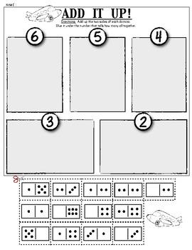 FREEBIE! Composing Numbers/Addition: Kindergarten Math