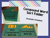 FREEBIE Compound Word Sort Folder