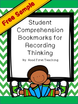 FREEBIE Comprehension Strategy Bookmark