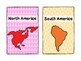 FREEBIE Continent Table Group Signs