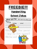 FREEBIE Correct the school jokes for letter size & line use !