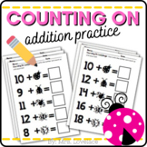 Counting on Addition Activities - Ladybugs Common Core Math
