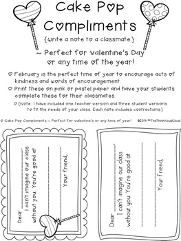 FREEBIE Valentine's Day Contractions ~ SAMPLE of Literacy Activities