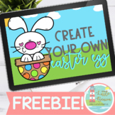 FREEBIE! Create Your Own Easter Egg Sentence Strip Boom Cards™