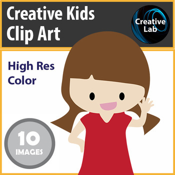 Creative Kids Clipart Set