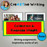FREEBIE: Picture Prompts: Creative Writing with Kwanzaa Prompts