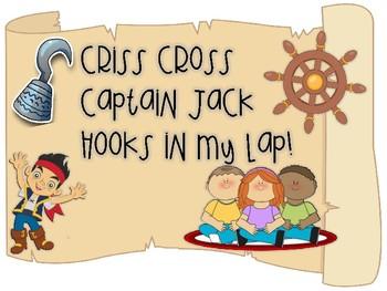 FREEBIE Criss Cross Pirate sign