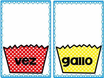 FREEBIE Cupcake Rhyming Cards